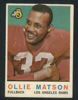 1959 Topps #50 Ollie Matson EXMT/EXMT+ LA Rams 70846