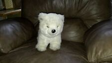 "1985 Avanti Baby Animals Applause Jockline Italy 14"" Polar Bear Plush 1043"