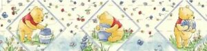 """7/8"""" 2 YARDS Winnie The Pooh Grosgrain Ribbon  Crafts Cards Hair Bows Scrapbooks"""