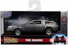 Jada Hollywood Rides: DeLorean Time Machine Back to the Future Part I 1/32 Scale