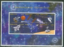 Sierra Leone Imperf Space Exploration The Early Years Sheet Sc#1904 Mint Nh