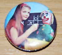 RETRO KIDS - VARIOUS DESIGNS - Button Badge 25mm / 1 inch 70s 80s TV