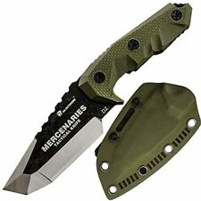 HX outdoors - Fixed Blade Tactical Knives with Sheath,Tanto Blade Outdoor Surviv