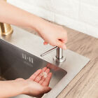 500ML Soap Dispenser for Kitchen Sink Brushed Nickel Stainless Steel Deck Mount photo