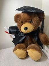 Soft Toy Elka 18cm Bear Jelly Graduation Brown ( Each )