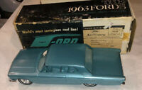 1963 Ming Green Ford Galaxie Hardtop AMT Dealer Promo Car Vintage