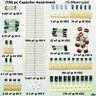 (130) pc Medium-Value CAPACITOR Assortment for Coupling, Bypass & Filter [#ckc]
