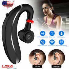 Wireless Earhook Bluetooth Headset Earphone Earpiece Earphone for Samsung Lg Blu
