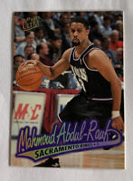 Fleer Ultra Vtg. 1996-97 Basketball Card Mahmoud Abdul-Rauf G Sacramento Kings