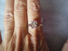 Minas Gerais Kunzite ring, 2.81 carats, size R/S, in 2.17 grams of 10K Yellow Go