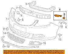 Buick GM OEM 12-16 Verano Front Bumper-Side Retainer Bracket Left 22874515