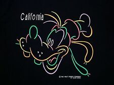 The Walt Disney World Company Land Disneyland California Goofy T Shirt L
