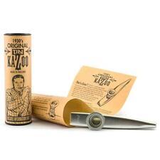 Original tin kazoo métal remplaçable membrane instrument musique 1930 outillage