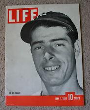 "JOE DiMAGGIO(New York Yankees) 5-1-39 ""LIFE"" Magazine(NO Label) - NICE!!! (0066)"