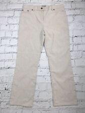 317a6d6210c Womens PER UNA Beige Part Linen Casual Trousers Size 14 Short