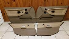 BMW e36 Tan Door Panel Set Sedan OEM 318 323 325 328 M3 92-97 Front And Rear