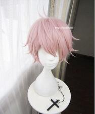 Touken Ranbu Online Wig Cos Prop Pink Short