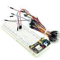 MB-102 Breadboard 830 Point Solderless Prototype PCB Board Kit for Arduino H2E5