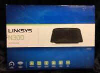 Linksys E1200 N300 Wireless Router - Black WiFi