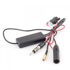 AD. Vetro VHF Antenna Adesiva antenna DISCHI AM//FM Amplificatore connettore DIN ISO