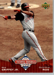 2006 Upper Deck National Baseball Card Day #UD7 Ken Griffey Jr - Reds