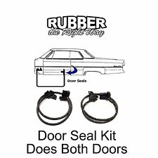 1982 - 1992 Chevy Camaro & Pontiac Firebird Door Seal Kit RH/LH