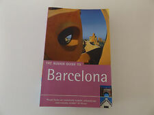 2002 The Rough Guide to BARCELONA Illustrated Paperback