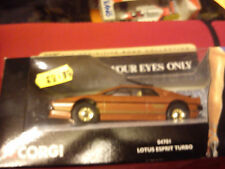 CORGI LOTUS ESPRIT TURBO 'FOR YOUR EYES ONLY'