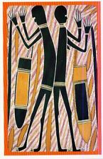 Klappkarte Aboriginal Art: Mewal - Honig- Ahne