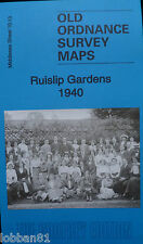 Old Ordnance Survey Maps Ruislip Gardens Middlesex  1940 Special Offer