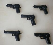 (no.5-5) custom swat police  5 Pisto Parts gun army weapons For LEGO minifigure