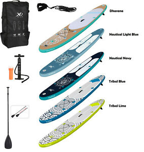 STAND UP PADDLE BOARD INFLATABLE SUP KAYAK XQ MAX 10FT ACCESSORIES SURF