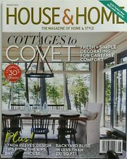 House & Home August 2016 Cottages to Covet Fresh Simple Comfort FREE SHIPPING sb