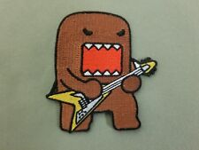 domo guitar embroidered iron on patch