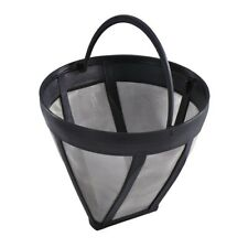Permanent Reusable #4 Cone Shape Coffee Filter Mesh Basket Strainer Stainless