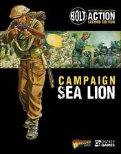 CAMPAIGN SEA LION - WARLORD GAMES (COR) - NEW PAPERBACK BOOK