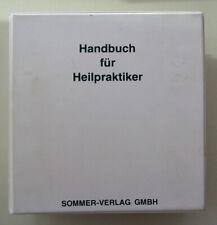 Harald Schicke - Handbuch für Heilpraktiker 1983