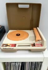 Vintage 1978 Fisher-Price Phonograph Record Player 45-33 Model 825 Tested WORKS