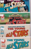 DC Comics The Young All Stars #2 #5 #8 #10 1987-1988 Bundle c1.759