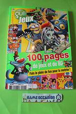 GULLI JEUX N°4 100 PAGES DE JEUX ET DE BD LAPINS CRETINS/THE TRASH PACK/POKEMON