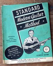 STANDARD MODERN GUITAR METHOD by GORDON MANN - CHAPPELL & CO