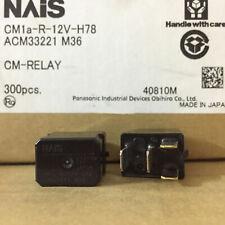 Nuevo NAIS CM1A-R-12V-H78 ACM33221 M36 12VDC 4 Pines x2PCS Relé de automoción