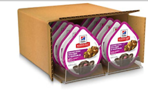 Hill's Science Diet Wet Dog Food, Adult, Small Paws for Small Breeds, Beef &Veg.