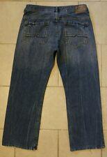 Mens BUFFALO David Bitton denim jeans RUFFER SZ Actual 35 x 28.5