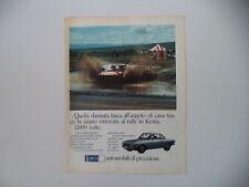 advertising Pubblicità 1974 LANCIA FULVIA COUPE'