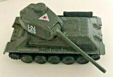 "Vtg 1996 Russian ARMY T-32 TANK WWII Diecast Metal Green 3.25"" I-24 1:64"