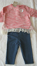 Patternless NEXT Outfits & Sets (0-24 Months) for Girls