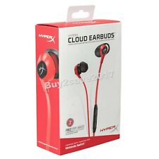 HyperX Cloud Earbuds Gaming Headphones Mic Nintendo Switch Mobile HX-HSCEB-RD