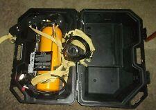 Scott Presure-PAK 2216 PSI  Air Pak w/Case Tank, Regulator, Supply Gauge + Mask