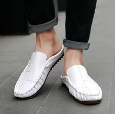 Men Slip On Driving Moccasin Casual Slippers Loafers Flats Snug Shoes Casual